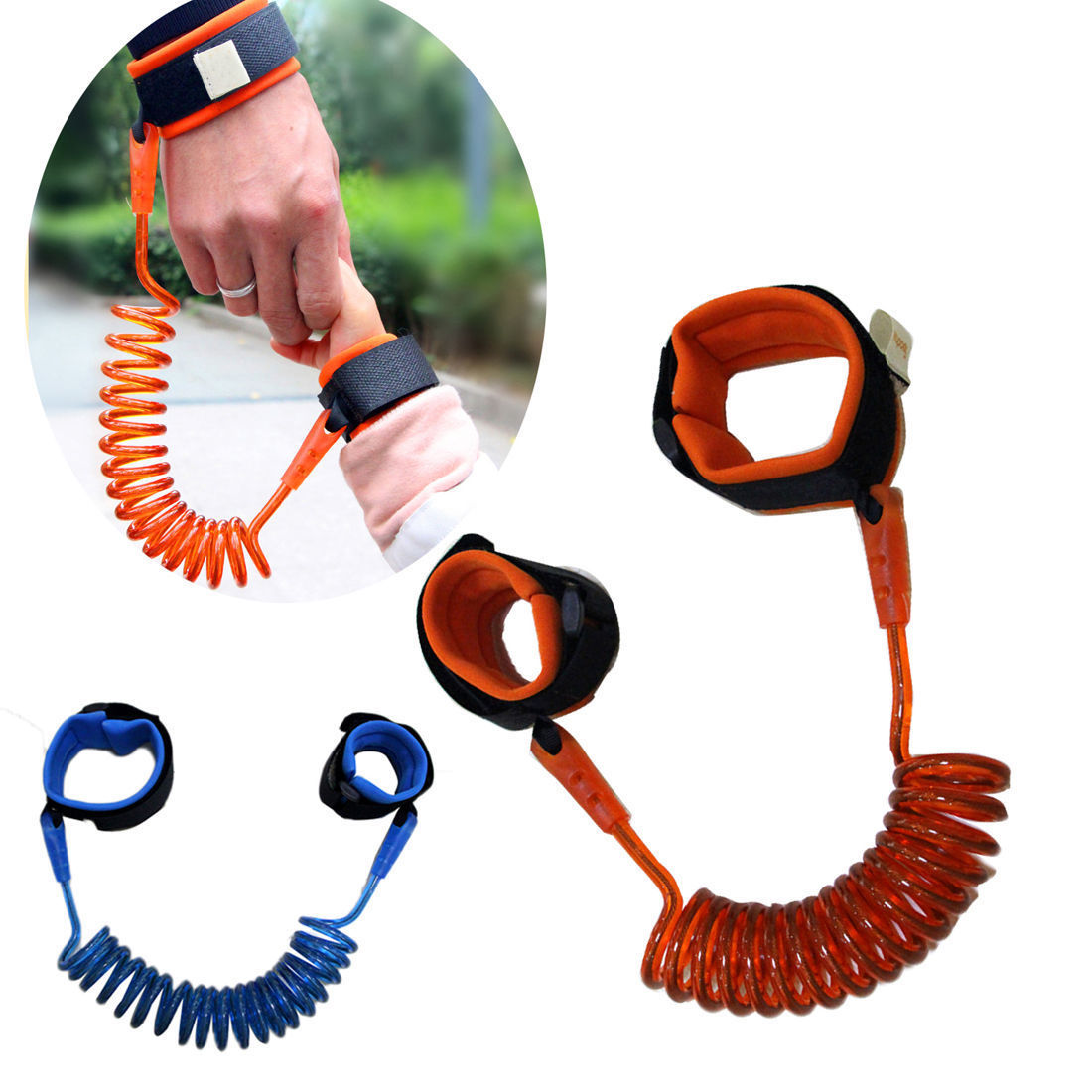 Anti Lost Strap Wrist Link Safety Harness Leash for Toddlers, Child Baby & Kids