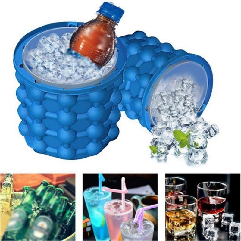 New Ice Cube Maker Genie The Revolutionary Space Saving Ice Genie Cube Maker Hot